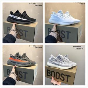 2019 New off Veröffentlichung Sneakers 350 V2 Lehm Hyper Wahre Form Kanye West Männer Frauen Laufen weißen Schuhe Sportschuh A012