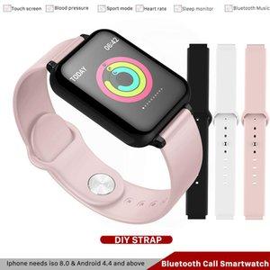 B57 IP67 impermeável relógio inteligente Cardiac Monitoramento múltipla rastreador smartwatch Esporte Fitness Model para o telefone iphone PK Watch4, A1