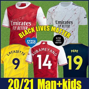 Nuevo 2020 Arsenal Fútbol rojo casero lejos amarillo azul profundo Tercero 20/21 club Gunners camisetas de los niños del kit Gooners ARS uniforme del fútbol