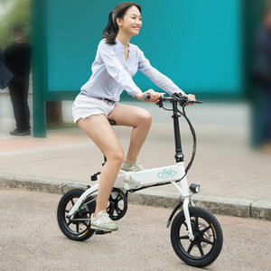 (EU Stock!)FIIDO D1 Folding Electric Moped Bike Three Riding Modes 10.4AH Ebike 250W Motor 25km h 25-40KM Range e bike Electric Bicycle