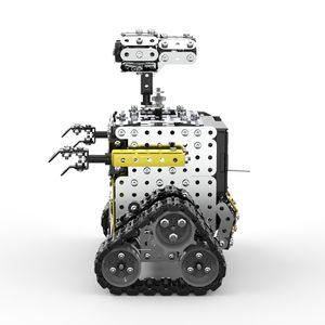 وحدات التحكم عن بعد تجمع 2 4G 10CH الصلب الذكي تجنب عقبة المشي RC لعبة للأطفال الروبوت Y200414