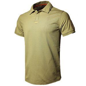 MEGE Dropshipping Camicia Uomo Estate Tattico Casual Army Short Shirt tee s para hombre camisa