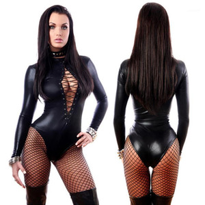 Costumes Calças Sexy Mulheres Erotic Lingerie Sexy Latex Leather Porn Underwear Hot Pole Dance Club Sex Babydoll Leggings1