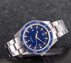 2020 Aquaterra Self -Winding Coaxial Movement James Bond 007 Men \&#039 ;S Business Watch 316 Stainless Steel Male Wristwatches Original ..