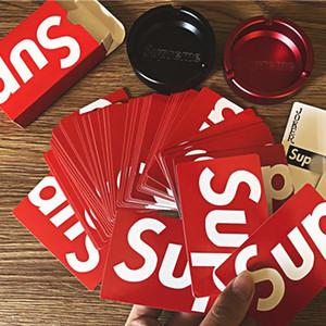 Sup personnalité imperméable jeu de cartes à jouer cartes à jouer papier à bord partie des fournitures collection jeu cartes cadeaux de poker Party Supplies