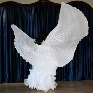Children's Isis Wing Full Belly Dance Wings Party Performance Costumes White
