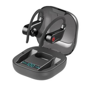 Q62 TWS Kablosuz Kulaklık Bluetooth v5.0 Spor Su Geçirmez Kulaklık Mobil Güç Kulak Kulaklık Ahizesiz Kulaklıklar