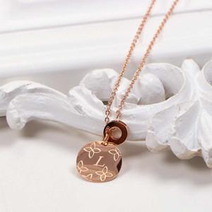 oro Rose suéter cadena plateado collar colgante suerte collar de cadena larga de los animales del colgante de joyería
