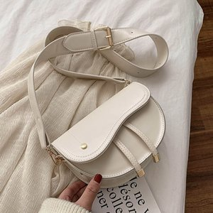 Fashion Belt Tassel Designer Bags Saddle New 2020 Flap Shoulder Crossbody Bag Small Pu Ladies Wide Female Women Leather Gxmor