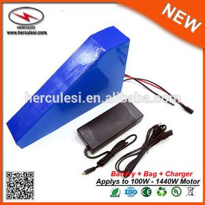 Ciclo 48v profonda 20Ah Li ione ricaricabile Potente 48v 1000w Triangolo eBike batteria con il sacchetto del triangolo