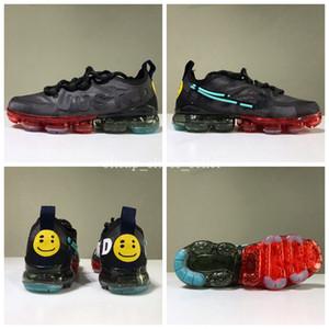 с коробкой 2019 CPFM CACTUS PLANT FLEA MARKET мужские кроссовки высочайшее качество улыбающееся лицо марка черные мужские кроссовки модные спортивные кроссовки