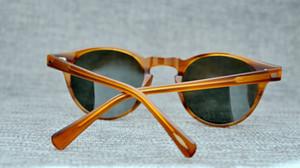 Hombres Mujeres que conducen Oliver Gafas de sol polarizadas Peoples OV5186 Gafas Retro OV 5186 Rectángulo colorido Gafas de sol Gafas con caja original