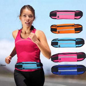 Açık Running Telefon Bel Çantası Bisiklet Su geçirmez Tutucu Telefon Kemer Çanta Mini Cep Su Şişesi Çanta Parti Favor OOA7629-2