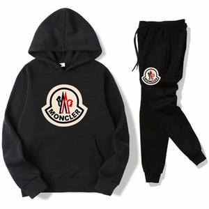 venta 2hot hombres Conjuntos de resorte ocasional pantalones camiseta de manga larga chándal otoño hombres jack corriendo la moda deportiva Trajes para mujeres
