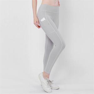 Женские леггинсы фитнес карманные брюки Push Running Workout Gym Clothing Высокая Талия леггинсы женские дышащие женские спортивные тренажеры