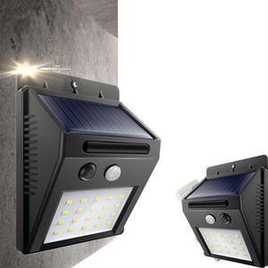 20 LED Güneş Enerjisi Spot Işık Hareket Sensörü Açık Bahçe Duvar Işık Güvenlik Lambası Oluk DHD628