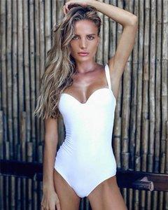 One Piece women Swimsuit solid color Snake Chest Up Bodycon Swimwear Underwear Summer Beach Wear Bathing Suit will and sandy Clothes