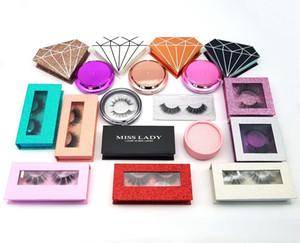 Livraison gratuite Cruelty Free Luxury 3D Vison Cils réel Vison Cils Logo privée acceptable multiples Emballage en option