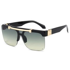 MILIONÁRIO óculos full frame designer de Vintage impressão óculos de sol para homens brilhante do ouro Hot vender ouro banhado Sunglasses L1