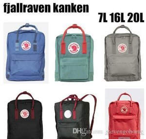 swedish fox 6 Style fjallravens kanken fashion luxury design backpack bags men women backpacks computer canvas bag mom baby bags hangbag