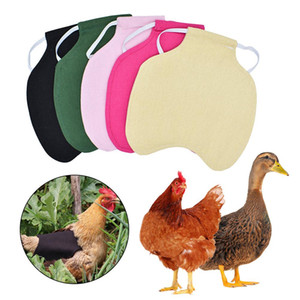 Hen Apron Chicken Saddle Apron Feather Protection Holder Chicken Duck Wings Back Protector Hen Dress Adjustable Pet Clothes