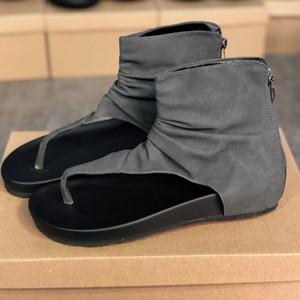 2020 mulheres Sandálias de designer sandálias de slides do preto da forma chinelo mulheres dos homens Tainers designer de Praia plana slip-on sapatos de couro sola de borracha