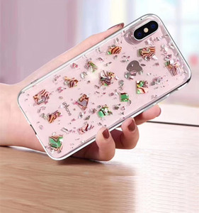 For Motorola G7 G6 P40 P30 E5 E4 Power Plus Play Cute Fashion Personalized Comfortable Hand Feeling Silver Foil Design Phone Case