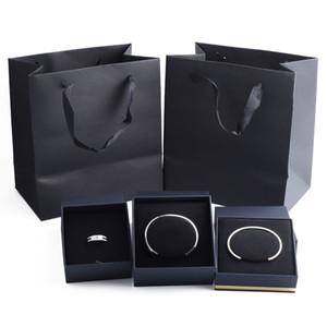 Фирменная оригинальная коробка ювелирных изделий кольцо браслет подарочная коробка, содержащая фирменный сертификат коробка ювелирных изделий счет-фактура сумка
