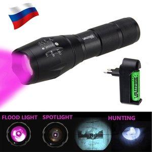 VASTFIRE IR 850nm Zoomable Jagdgewehr Lichter Jagd Licht Infrarot-Strahlung Nachtsicht Taktische Flashlight18650 Wiederaufladbare BatteryCha