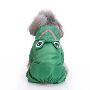 Perro capas de lluvia ropa chaqueta impermeable perro Mono tiernas mascotas para el impermeable pequeña capa impermeable de la ropa del perrito grande