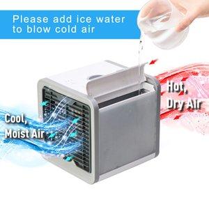USB Mini Climatiseur portable facile refroidisseur d'air du ventilateur de bureau Espace Cooler Personal Air Space ventilateur de refroidissement pour la chambre d'accueil ventilateurs