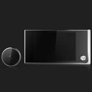 Battery Power Camera Peephole Viewer Door Eye Cam Home Security LCD Monitor