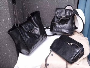 Large-capacity bag Lingge soft shopping bag 2019 new fashion wild single shoulder tote bag ins tide