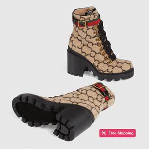 Yün Ayak bileği Boot Ebony Kadın Çizme Lug Soled Heeled Patik gözleri Marka Boots Kış Sıcak Ayakkabı Oxfords Ayakkabı 11G0G