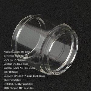 Bolha Bulb gordura de vidro para a ingestão de Berserker Mini iJoy RDTA 5S Capitão X3s Amor NS Além disso Ello TS MAGE RTA 2019 Flux Cube MTL Shogun JR DHL