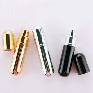 10 ml portátil Mini Atomizador Perfume Bottle Aftershave Maquiagem spray Atomizador de viagem recarregável Bomba Garrafas de perfume RRA2213