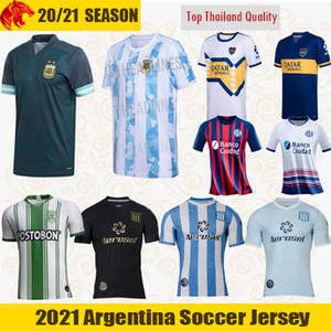 2020 Racing Club Futbol Formaları LISANDRO 20 21 CHURRY ROJAS Futbol Gömlek CHELO DIAZ CVITANICH ZARACHO FERTOLI Argentina Racing Club Futbol Formaları