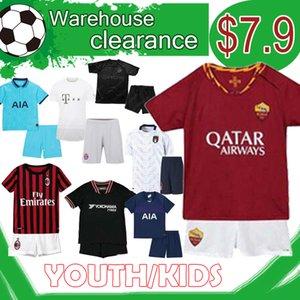 cabritos del juego de Bayern Munich Descuento 17 HAALAND 110a maillot de promoción Dortmund niños KANTE Kit Para Niños Promoción
