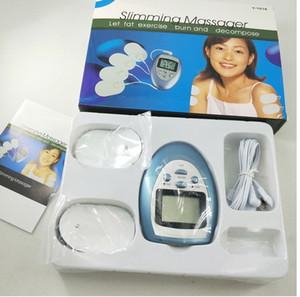 Ganzkörper-Schocktherapie Gesicht Körper Massager Stimulation Muskel Electro Massage Kit Portable dünne Ausrüstung Y-1018