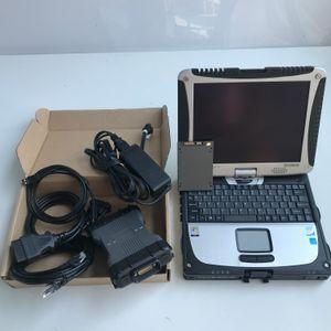 mb yıldızı c6 sd c6 ile benz tanı MB C6 için SSD 2019.09v ile bağlantı dizüstü CF-19 Toughbook kullanımına 4G hazır