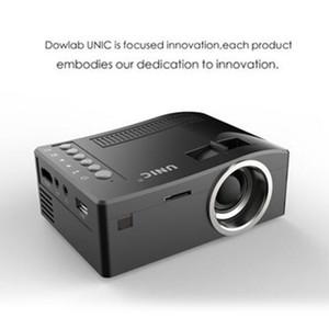 Original Unic UC18 Mini-LED-Projektor-beweglichen Taschen-Projektoren Multi-Media-Player für Heimkino-Spiel Unterstützt HDMI USB Neuer