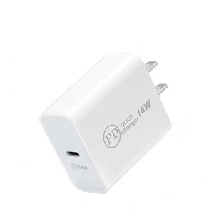 USB C Wall Charger 18W Power Delivery PD Quick Charger Adapter TYPE C Charger Plug Fast Charging for Samsung S9 S10 Plus Note 10 9 Huawei