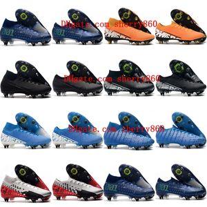 2019 المرابط الرجال لكرة القدم زئبقي ال superfly 7 النخبة SG-PRO الأحذية AC كرة القدم رخيصة CR7 زئبقي الأبخرة 13 أحذية كرة القدم النخبة SG-PRO
