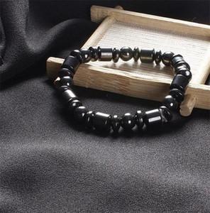 Magnetic Therapy Beads Resistir À Fadiga Pulseira Magnética Elastic Bangle Presentes do Negócio Preto Conveniente Simples Vendas Quentes 0 89rl C1