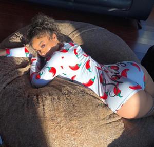 Frauen Designer Pyjama Onesies Nachtwäsche Playsuit Workout-Knopf-dünne heißen Druck Jumpsuits V-Ausschnitt kurz Onesies Strampler