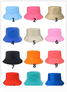 Summer Foldable Bucket Hat Unisex Women Outdoor Sunscreen Cotton Fishing Hunting Cap Men Basin Sun Prevent Hats Gift