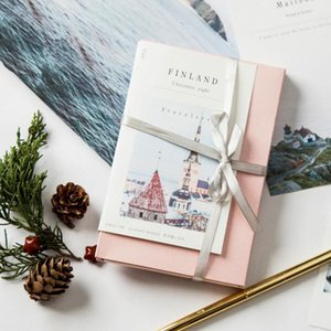 Traveler postcard set to Finland literature and art message blessing greeting card gift greeting card combination birthday