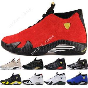 14 14s zapatos de baloncesto para hombre Desert Sand DMP Last Shot Indiglo Thunder Red Suede Oxidized Grey White hombres Deportes Sneakers entrenadores desi gner