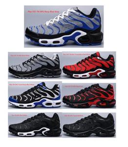 도매 2020 새로운 남성 신발 저렴한 블랙 화이트 레드 테네시 플러스 울트라 스포츠 신발 클래식 TNS Requin 디자이너 운동화 크기 40-47 테네시