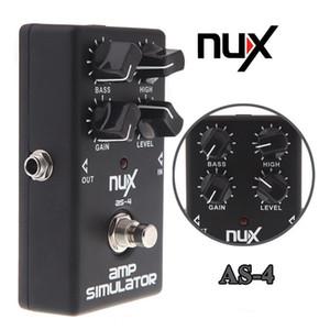NUX AS-4 Amplifikatör Simülatörü Bozulma Elektro Gitar Efekt Pedal Gerçek Bypass Ücretsiz Kargo